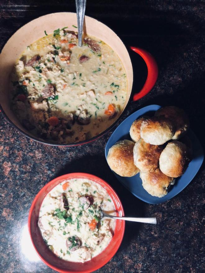 Creamy Chicken Soup 3