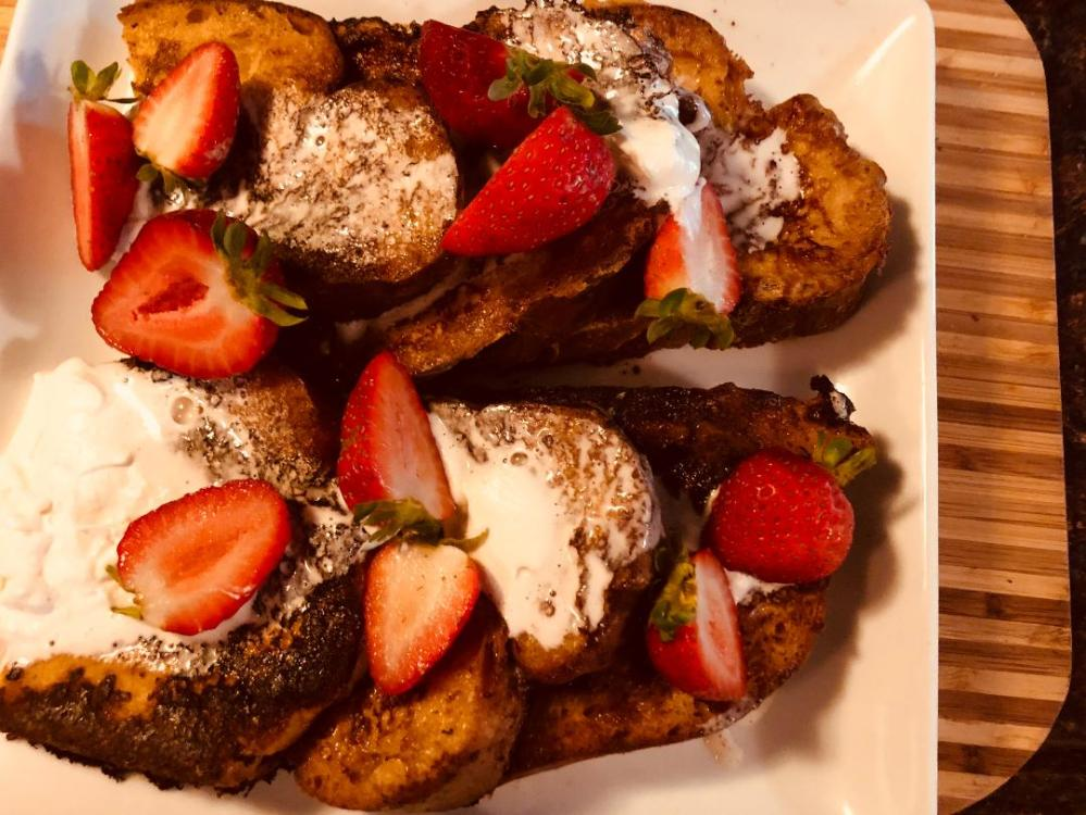 Tres leches french toast1